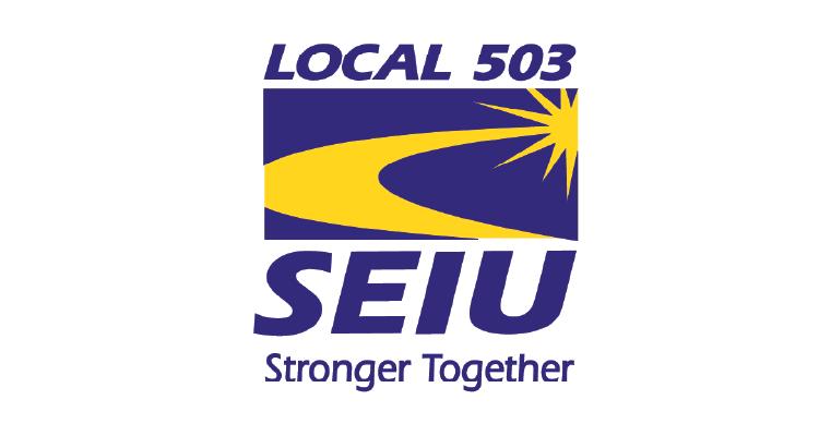 SEIU Local 503 logo