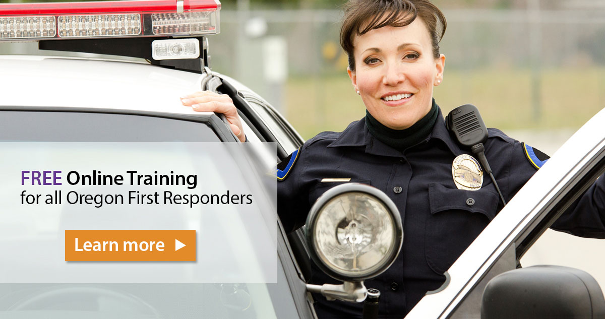 Oregon Care Partners First Responders Alzheimer's Training