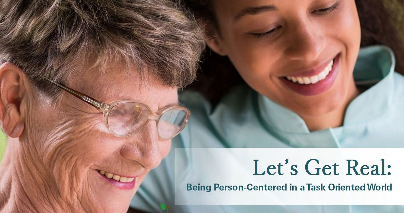 Oregon Care Partners Person Centered Care Training