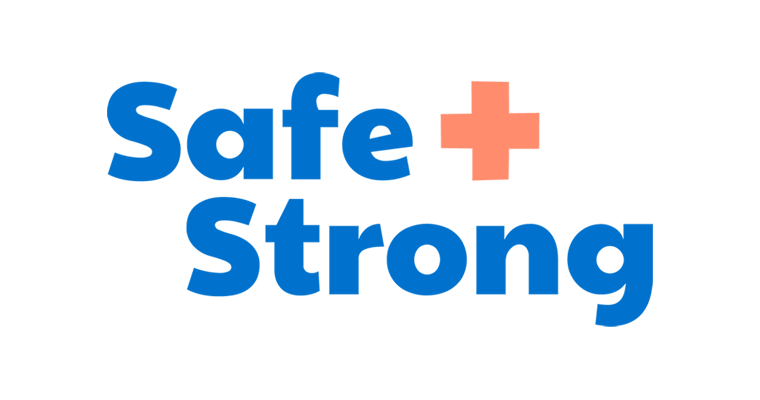Oregon - Safe + Strong logo